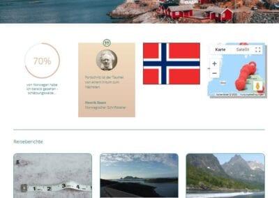 Bild: Länderseite Nicis Reiseblog