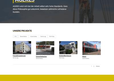 Bild: Ageres - Projektübersicht